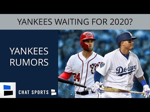 Yankees Rumors: Brian Cashman Passing On Bryce Harper & Manny Machado For Nolan Arenado In 2020