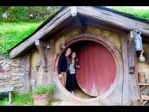 Hobbiton New Zealand   Movie Set Tour