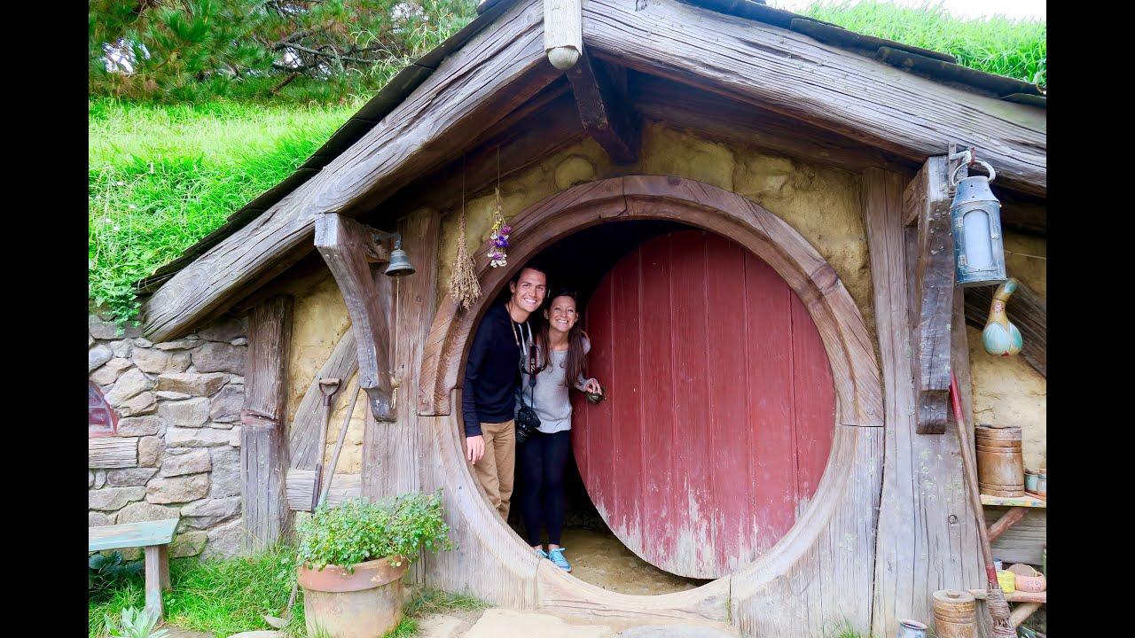 Hobbiton New Zealand Movie Set Tour Youtube