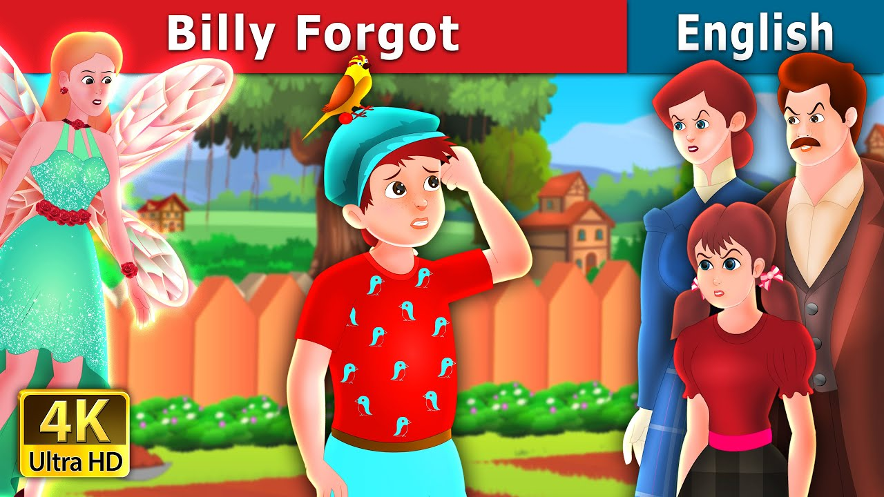 Download Billy Forgot Story in English   Stories for Teenagers   English Fairy Tales