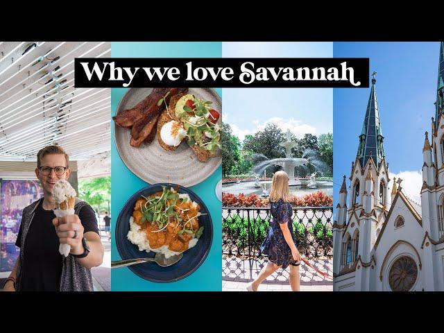 SAVANNAH, GEORGIA | A few things we LOVE about Savannah