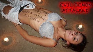 THE HUMAN OUIJA BOARD CHALLENGE *SHE GOT POSSESSED*