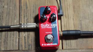 Sub 'N' Up Mini Octaver Demo on Bass, by Ariel Garcia