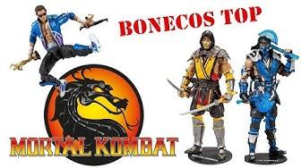 Bonecos do Mortal Kombat Incrível 😮 UNBOXING