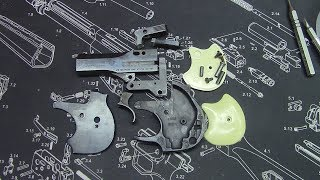 Completely disassembling a Hi Standard Derringer for Cerakote appli...