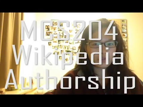 MCS204 wikipedia vlog