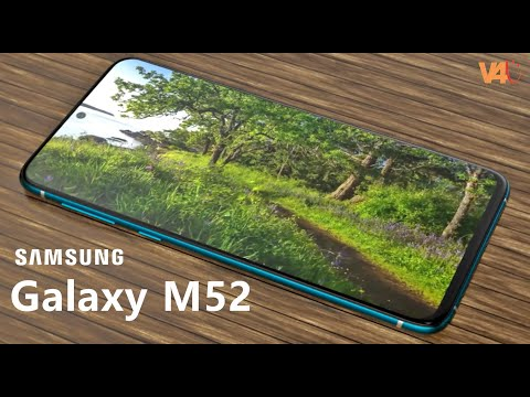 Samsung Galaxy M52 Official Video, Price, 7500mAh Battery, 5G, Release Date, Trailer, Specs, Camera