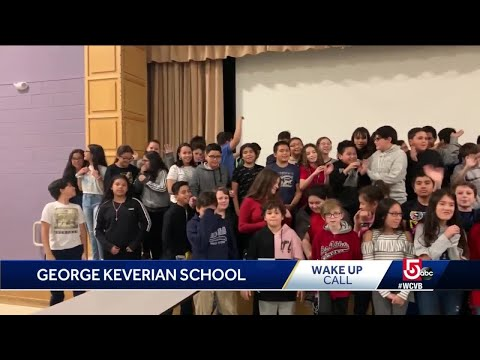 Wake Up Call from George Keverian School