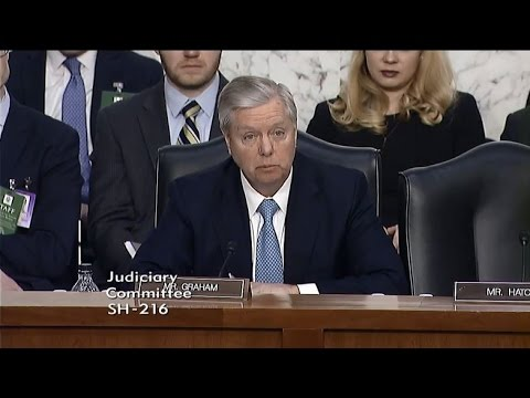 Graham Questions Supreme Court Nominee Judge Neil Gorsuch
