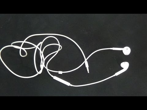 Как починить наушники Apple  IPhone