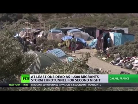 Illegal immigrants 'won't stop until they enter UK'