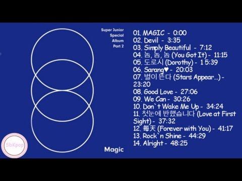 Super Junior (슈퍼주니어) magic [FULL ALBUM PART. 2]