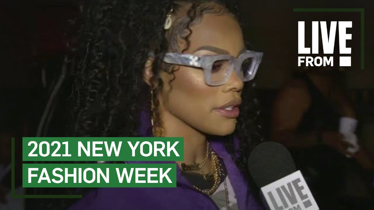 Teyana Taylor Makes NYFW Debut With PrettyLittleThing Show   NYFW   E! Red Carpet & Award Shows