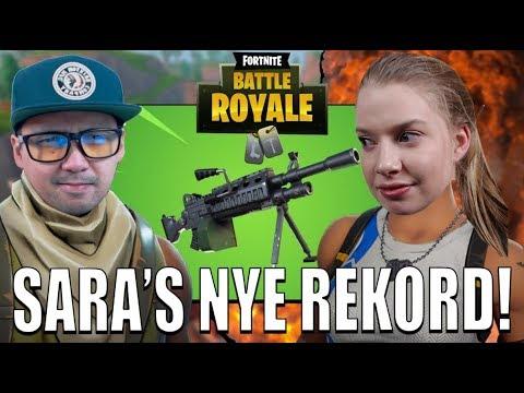 LIGHT MACHINE GUN ER SKUMMEL!🥇⚡️ | Norsk Fortnite