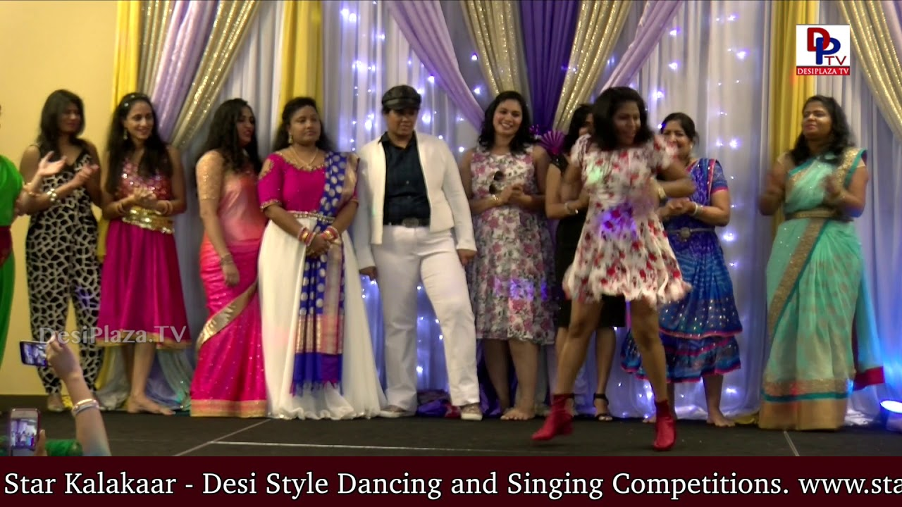 MegaStar mania in USA - Women excellent dances on MegaStar Chiranjeevi songs at NATA Women's Day