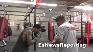Hebert Acevedo Gets Ready To Headline In Garden City Kansas EsNews Boxing