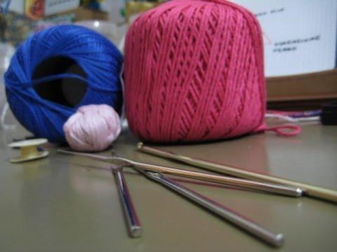 Tutorial Crochet Come Scegliere Filo E Ferro Da Uncinetto Per Un