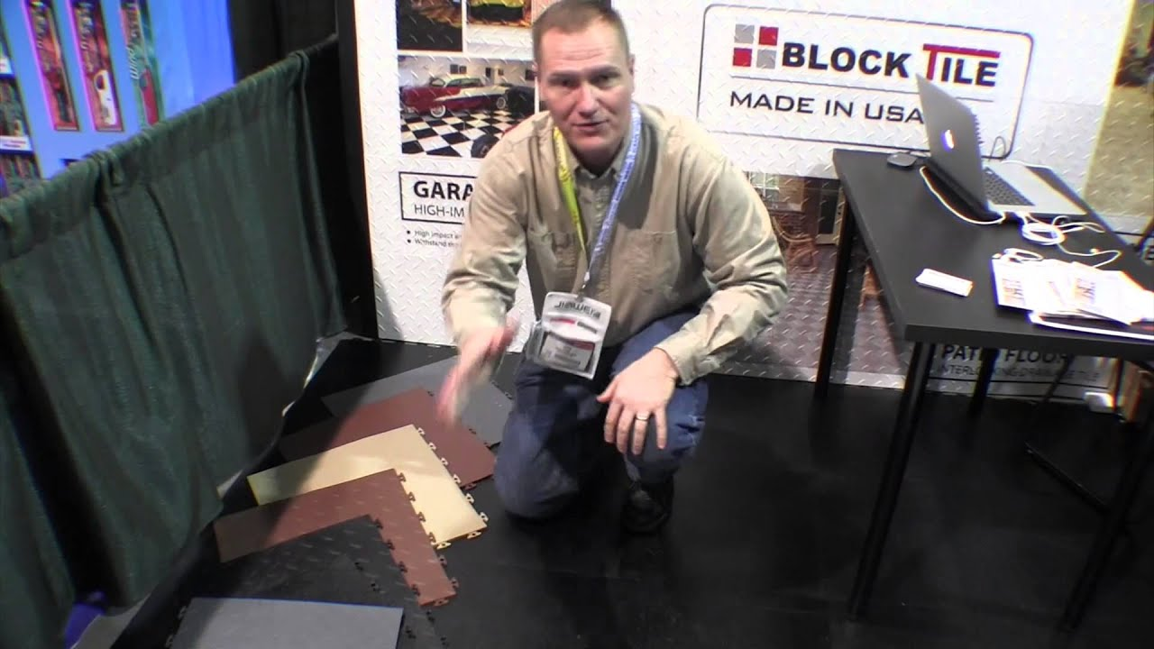 Blocktile garage and basement flooring systems by the weekend blocktile garage and basement flooring systems by the weekend handyman youtube doublecrazyfo Choice Image