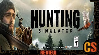 HUNTING SIMULATOR - PS4 REVIEW (Video Game Video Review)