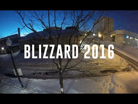 2016 Blizzard in Silver Spring, Maryland
