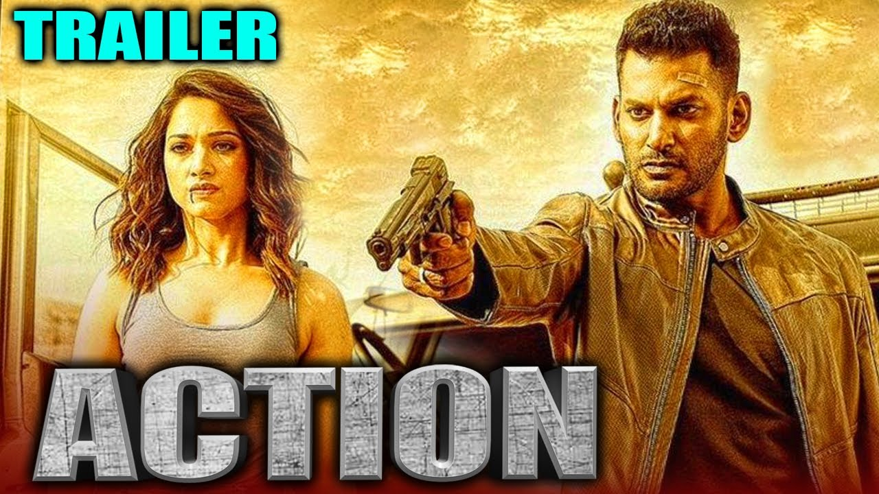 Download Action 2020 Official Trailer Hindi Dubbed | Vishal, Tamannaah, Aishwarya Lekshmi