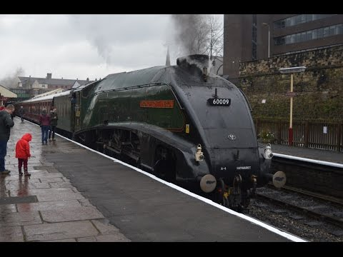 East Lancashire Railway Pacific's In The Valley Friday 14th April 2017