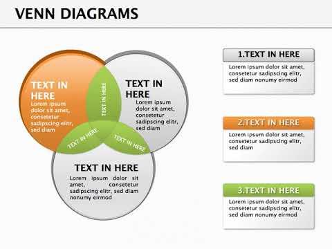 Venn Diagrams Keynote Presentation Youtube
