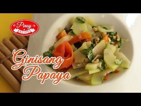 Ginisang Papaya Pinoy Recipe : How to cook Ginisang Papaya | Pinoy Recipes
