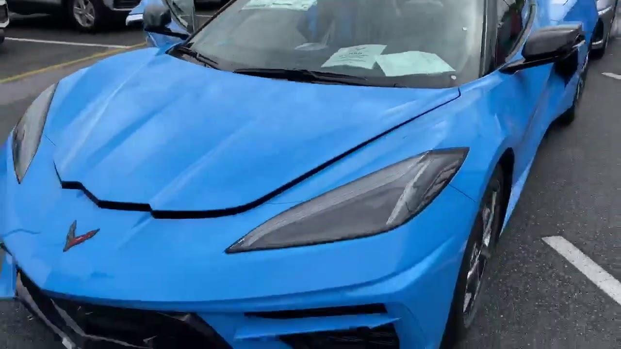 First 2020 Corvette Convertible Arrives at Chevy Dealer
