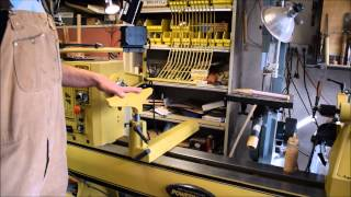 Woodturning With The Naked 4224 Powermatic Walkthrough