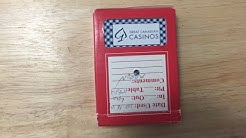 Gemaco Great Canadian Casinos Deck Review
