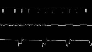 C64 Rob Hubbard 39 s Auf Wiedersehen Monty oscilloscope view