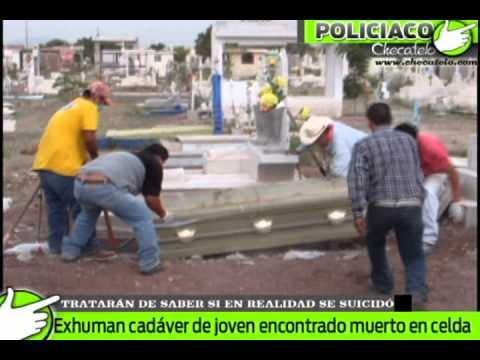 exhuman cadaver de joven 7 ene 2012