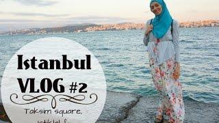Video Istanbul vlog #2 - Taksim square, Istikal & Topkapi | Houda Noussi download MP3, 3GP, MP4, WEBM, AVI, FLV Desember 2017