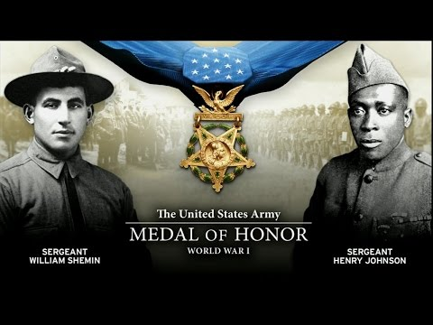 Pentagon Hall of Heroes: Sgt. William Shemin and Pvt. Henry Johnson