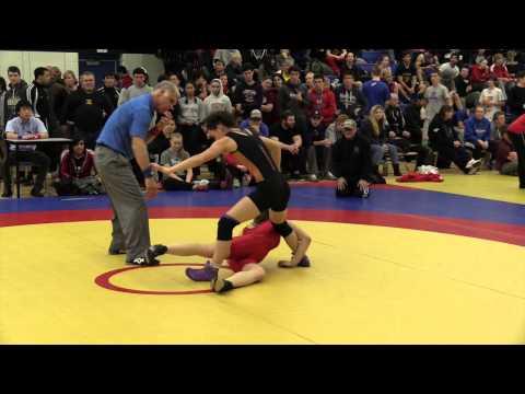 2014 Matmen Classic: 52 kg Laurence Camirand vs. Jade Dufour