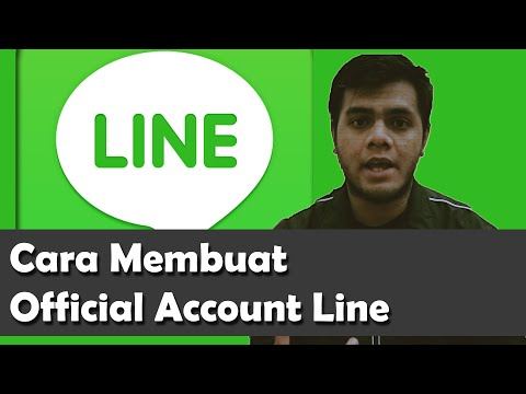 Cara Simpel Membuat Official Account Line