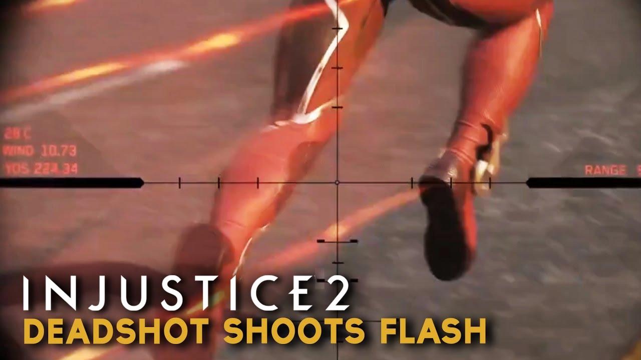 Download Injustice 2 - Deadshot shoots Flash