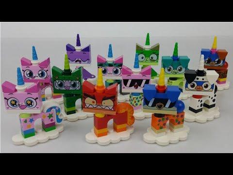 Cała Seria 1 Kici Rożek Lego Unikitty 41775 Kicia Rożek Series 1 All