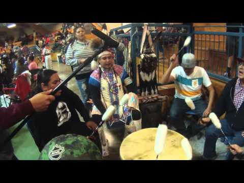 Blackfoot Confederacy Grass Dance Song @ Siksika Nation Powwow 2016