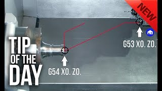 Use G53, not G28, to Cut Cycle Times and Position Your Lathe Turret – Haas Automation Tip of the Day