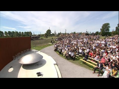 On third MH17 anniversary, families unveil 'living memorial'
