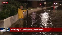 Flooding in Downtown Jacksonville