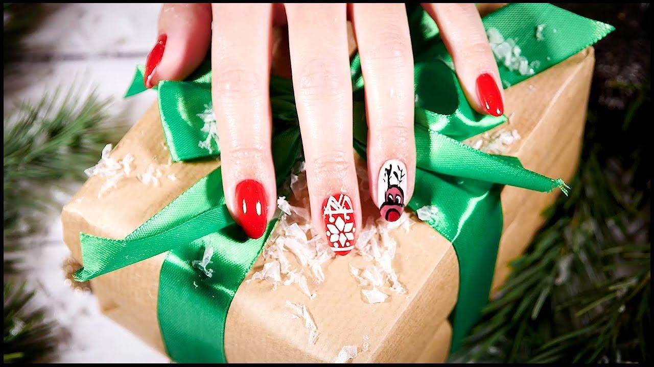 Jak pomalować paznokcie w świąteczne wzorki | Beauty DOMODI TV