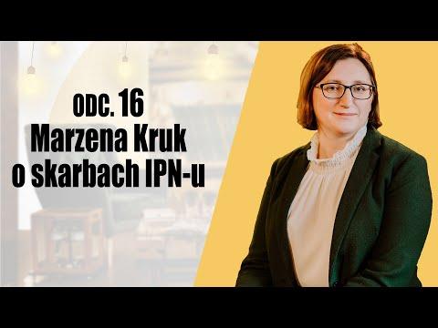 Marzena Kruk o skarbach IPN-u - Regał