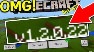 NEW MINECRAFT 1.2 BETA UPDATE!!! (Minecraft Pocket Edition Build 7)