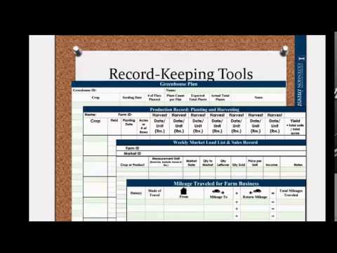 Veggie Compass Record Keeping Software