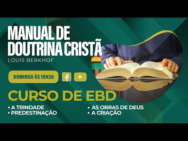 Escola Bíblica Dominical - 16.05.2021 - 10:30h