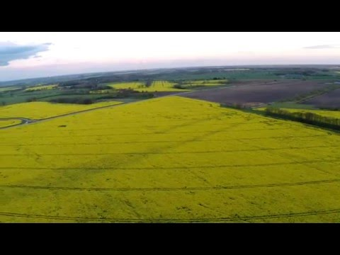Drone Flight Over Metheringham Airfield Remains