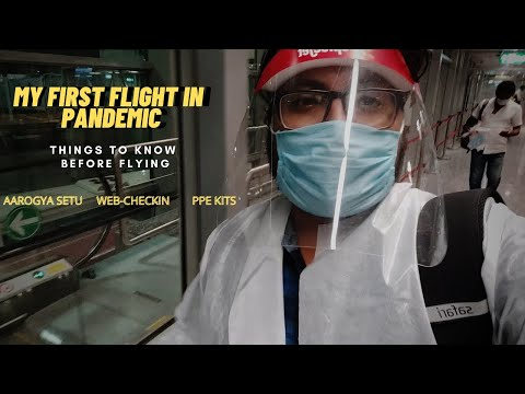 My First Flight in Pandemic | Air Travel from Bangalore to Delhi